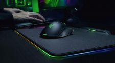 Gaming Mouse pad using by man