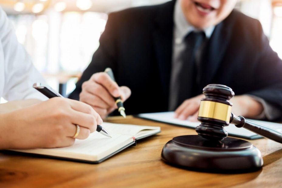 Consulting with Lawyer