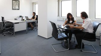 Employees are Busy with work in office